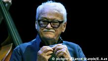 2010.16.08 Toots Thielemans Quartet plays at the opening of the Oslo Jazz Festival in the Norwegian National Opera Monday. Photo: Erlend Aas / Scanpix Norway | (c) picture-alliance/Scanpix/E. Aas