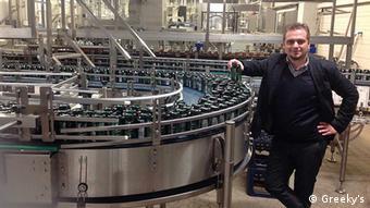 Ο Λεωνίδας Στόικoς, διευθυντής της Green Cola Germany GmbH