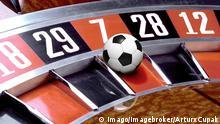 Symbolbild Fußball & Glücksspiel