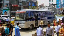 Bangladesch Gulshan Bus Service - Angebot nach Terroranschlag
