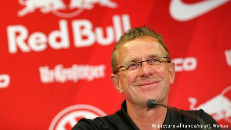 Ausrüster der Bundesliga 16/17 RB Leipzig - Ralf Rangnick - Red Bull