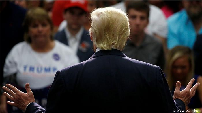 USA Präsidentschaftswahlkampf Donald Trump in Virginia
