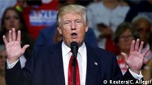 USA Präsidentschaftswahlkampf Donald Trump in Ohio