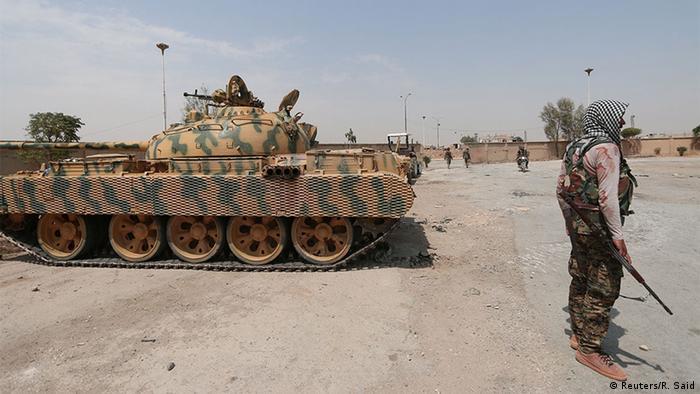Syrien Krieg YPG kurdische Kämpfer der People's Protection Units (Reuters/R. Said)