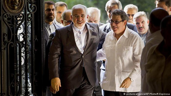 Mohammad Javad Zarif Bruno Rodriguez Kuba und Iran