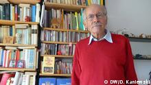 Professor für Osteuropäische Geschichte der Universität Wien, Andreas Kappeler Datum: August 2016 Ort: Wien Copyright: DW/D. Kaniewski