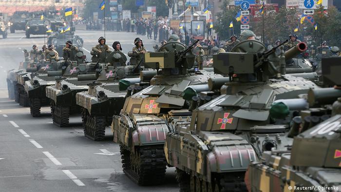 Репетиція військового параду в Києві, 22 серпня