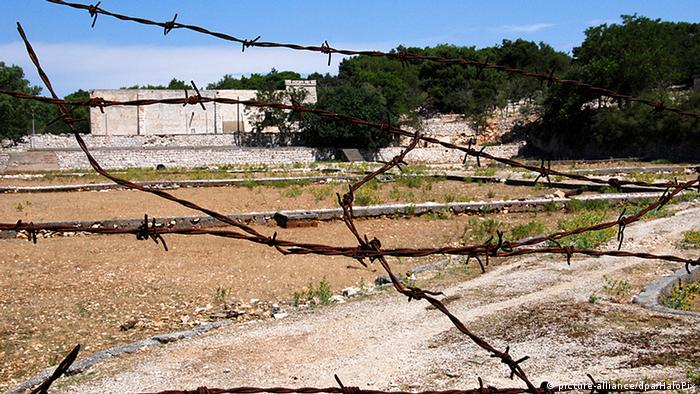 Kroatien Goli Otok ehemaliges Gefängnis