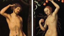 Lucas Cranach d.Ä. - Adam und Eva (Gemäldepaar)
