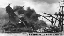 USA Japan Geschichte Pearl Harbor USS ARIZONA (Reuters/The U.S. National Archives)