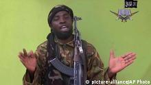 Nigerien Boko Harams Führer Abubakar Shekau