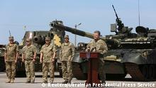 Petro Poroshenko Ukraine Präsident Kiew