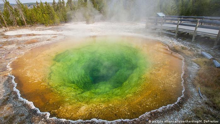 USA Morning Glory Pool im Yellowstone-Nationalpark (picture alliance/robertharding/M. DeFreitas)