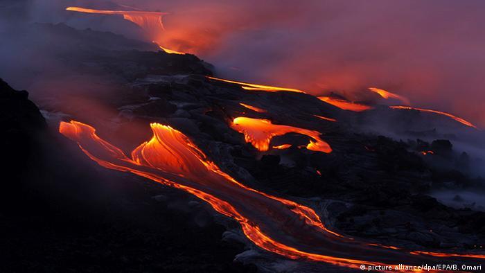 د هاوای اورغورځونکی ملي پارک هم د یونسکو د جهاني میراث په لست کي شامل دی. د کیلاویا اورغورځونکی غر چي په دغه منطقه کي موقعیت لري، د ۱۹۸۰ لسیزي راوروسته د نړی یو ترټولو فعال اورغورځونکی غر دی. د هغه ویلي سوي مواد د غیر مسکوني سیمو څخه تیریږي او آرام سمندر ته ورلویږي.