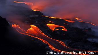 Hawaii Hawaiʻi-Volcanoes-Nationalpark Lava