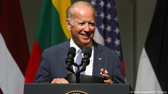 Lettland US-Vize-Präsident Joe Biden