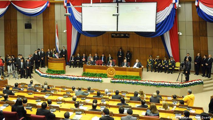 Paraguay Parlament in Asunción