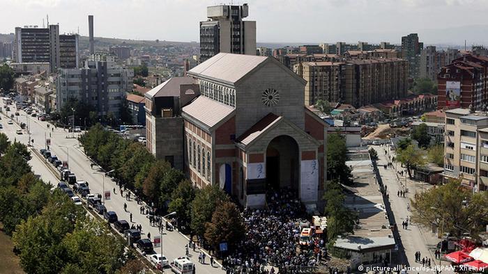 Kosovo Einweihung der Mutter-Teresa-Kathedrale in Pristina