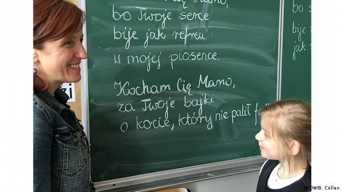 Polnischunterricht in Deutschland Lehrerin Anna Rozwadowska