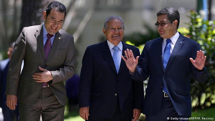 El Salvador Honduras Guatemala Kampf gegen organisiertes Verbrechen