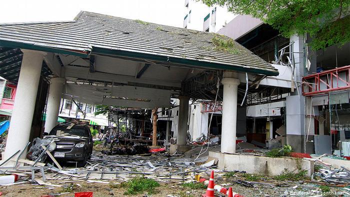 Thailand Anschlag Pattani