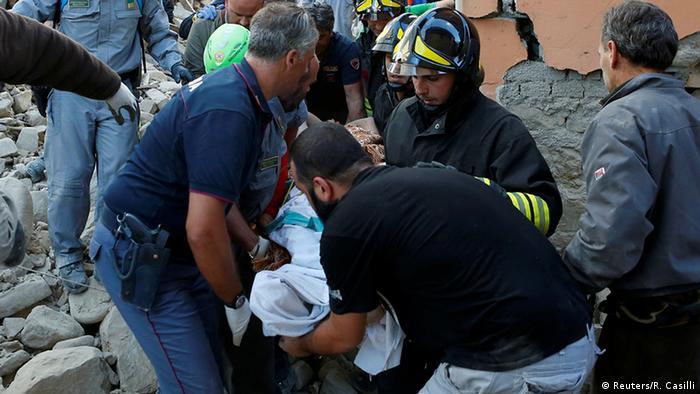 Жертви землетрусу