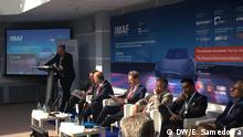 Diskussion im Rahmen des Forums International Moskow Automotive Forum, Moskau, August 2016 DW/E. Samedowa