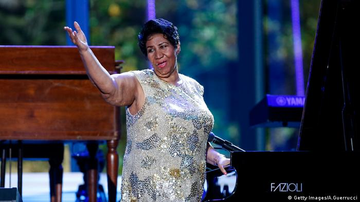 Aretha Franklin Sängerin USA (Getty Images/A.Guerrucci)