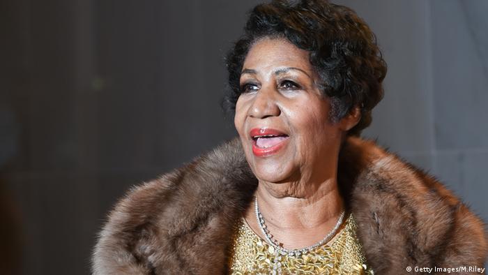 Aretha Franklin (Getty Images/M.Riley)