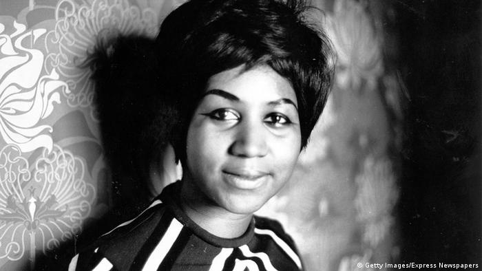 Aretha Franklin Sängerin USA (Getty Images/Express Newspapers)