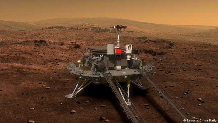 China siap daratkan robot peneliti dan orbiter planet Mars