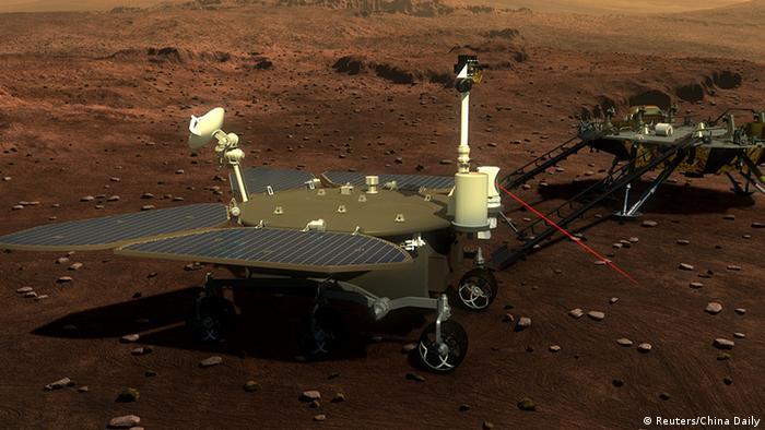 China bereitet sich auf eine Mars Mission vor (Reuters/China Daily)
