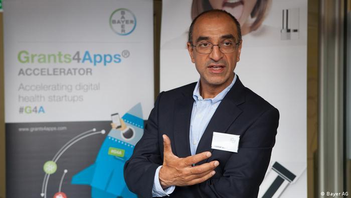 Bayer AG Vorstandsmitglied Kemal Malik