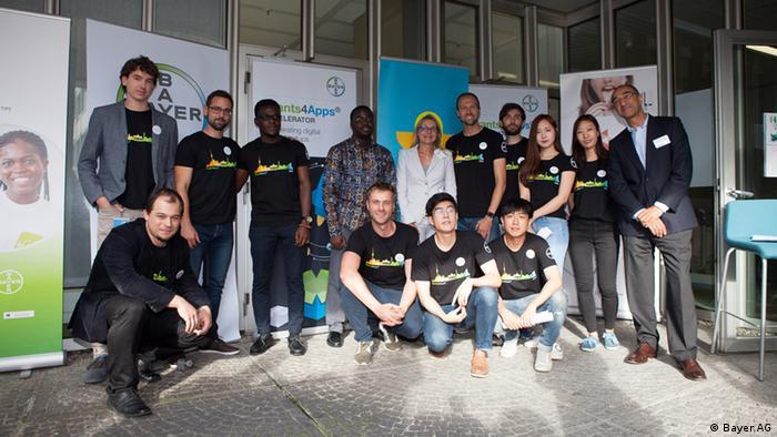 Teilnehmer am Bayer Startup Meeting