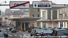 Die Grenze zwischen der Schweiz und Italien bei Como und Chiasso steht im Mittelpunkt der Kontrollen