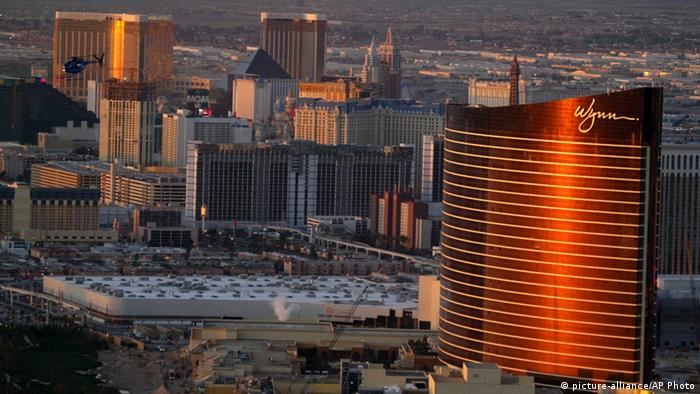 Architektur Wynn Resor in Las Vegas