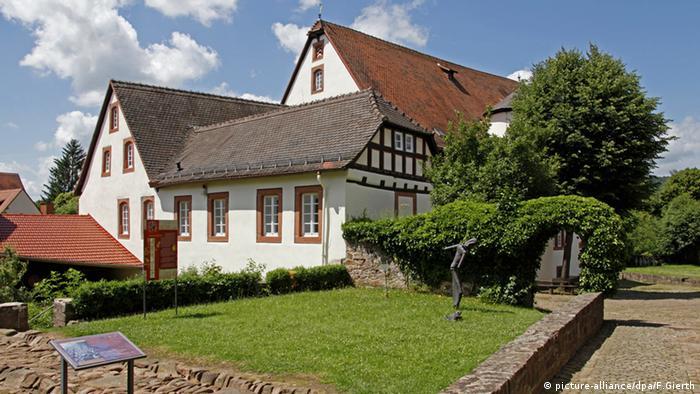 A casa onde moraram os irmãos Grimm em Steinau