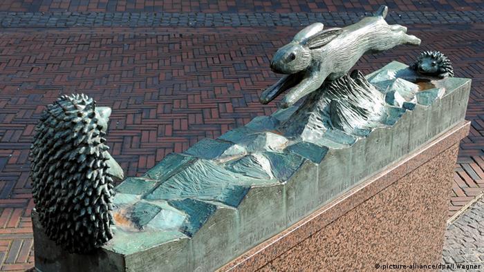 A lebre e o ouriço em Buxtehude