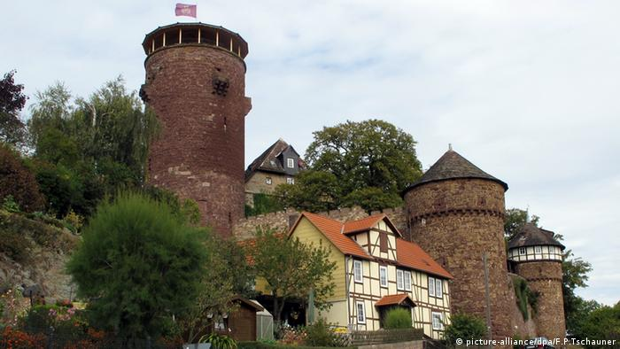 O castelo da Rapunzel em Trendelburg