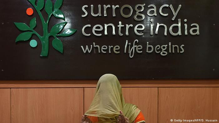 Indien Leihmutterschaft - Surrogacy Centre India (SCI) clinic in Neu-Delhi (Getty Images/AFP/S. Hussain)