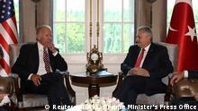 Türkei Ankara Besuch US Vizepräsident Joe Biden bei Premierminister Binali Yildirim