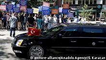 Türkei US-Vize-Präsident Joe Biden in Ankara - Protest