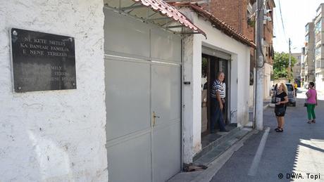 Albanien Haus der Familie von Mutter Teresa in Tirana