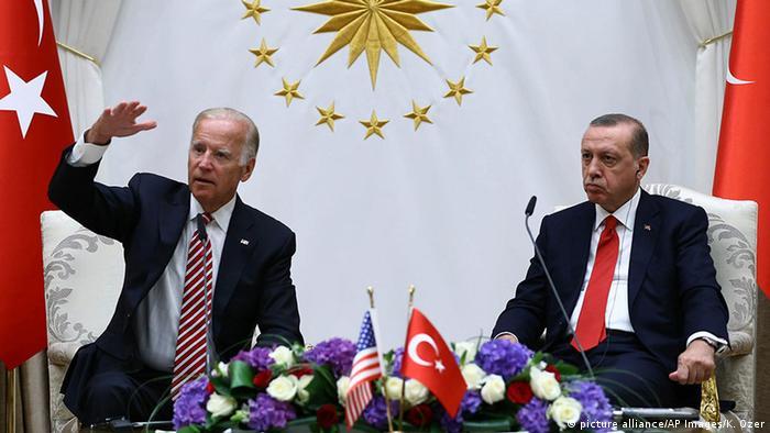 Joe Biden Başkan Yardımcısı'yken 2016 yılında Ankara'da temaslarda bulunmuştu