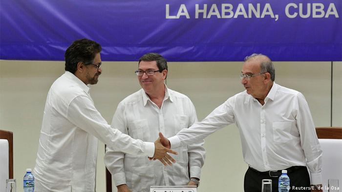 Kolumbianische Regierung und FARC-Rebellen schließen offiziell Frieden