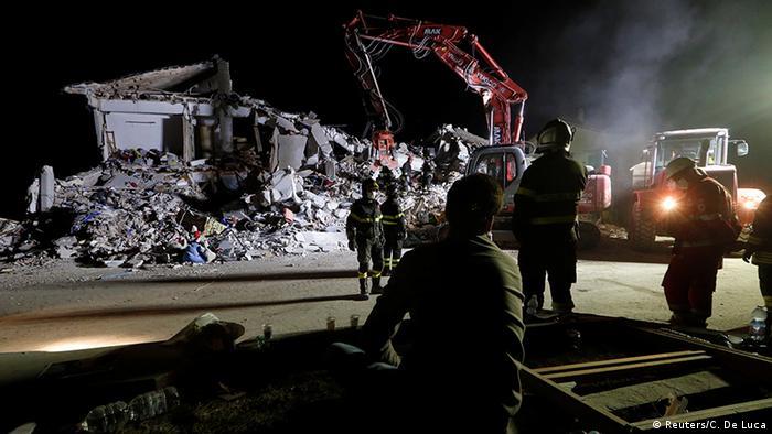 Italien Erdbeben Amatrice Rettungsaktion