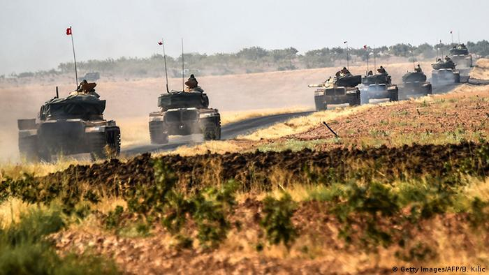 Türkei Offensive gegen IS in Syrien
