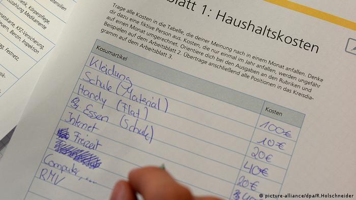 Wirtschaftsunterricht an deutschen Schulen | Alltagsdeutsch ...
