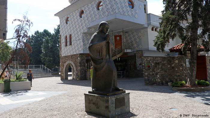 Mazedonien Mutter Teresa-Haus in Skopje