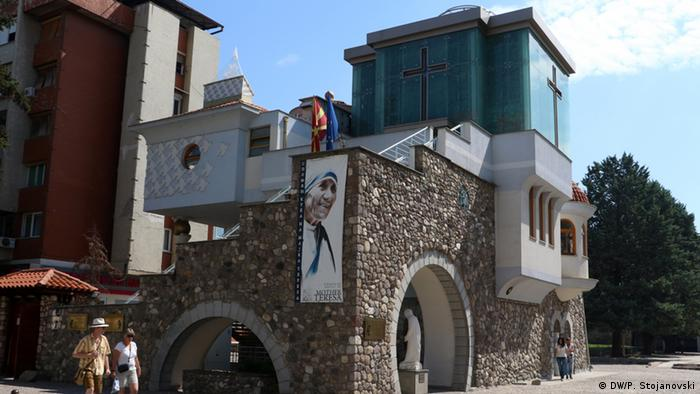 Mazedonien Mutter Teresa-Haus in Skopje